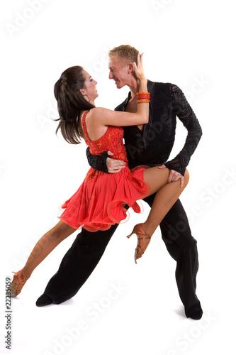 Fotografie, Obraz  Ballroom Dancers Latin 08