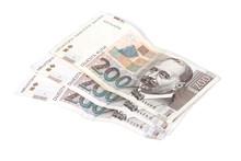 Paper Bills Of Croatian Kuna