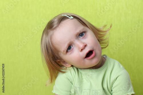 Fotografering  Kleines Mädchen