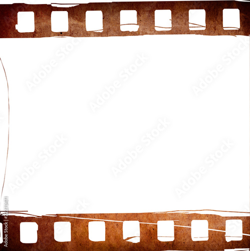 Great film strip for textures and backgrounds frame - Buy this stock ...