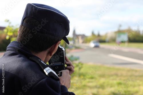 Fotografía  contrôle vitesse
