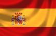 canvas print picture - Nationalfahne von Spanien