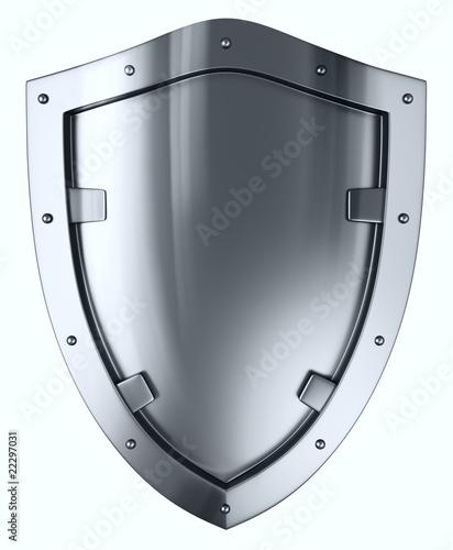 Fotografie, Obraz  Silver shield.