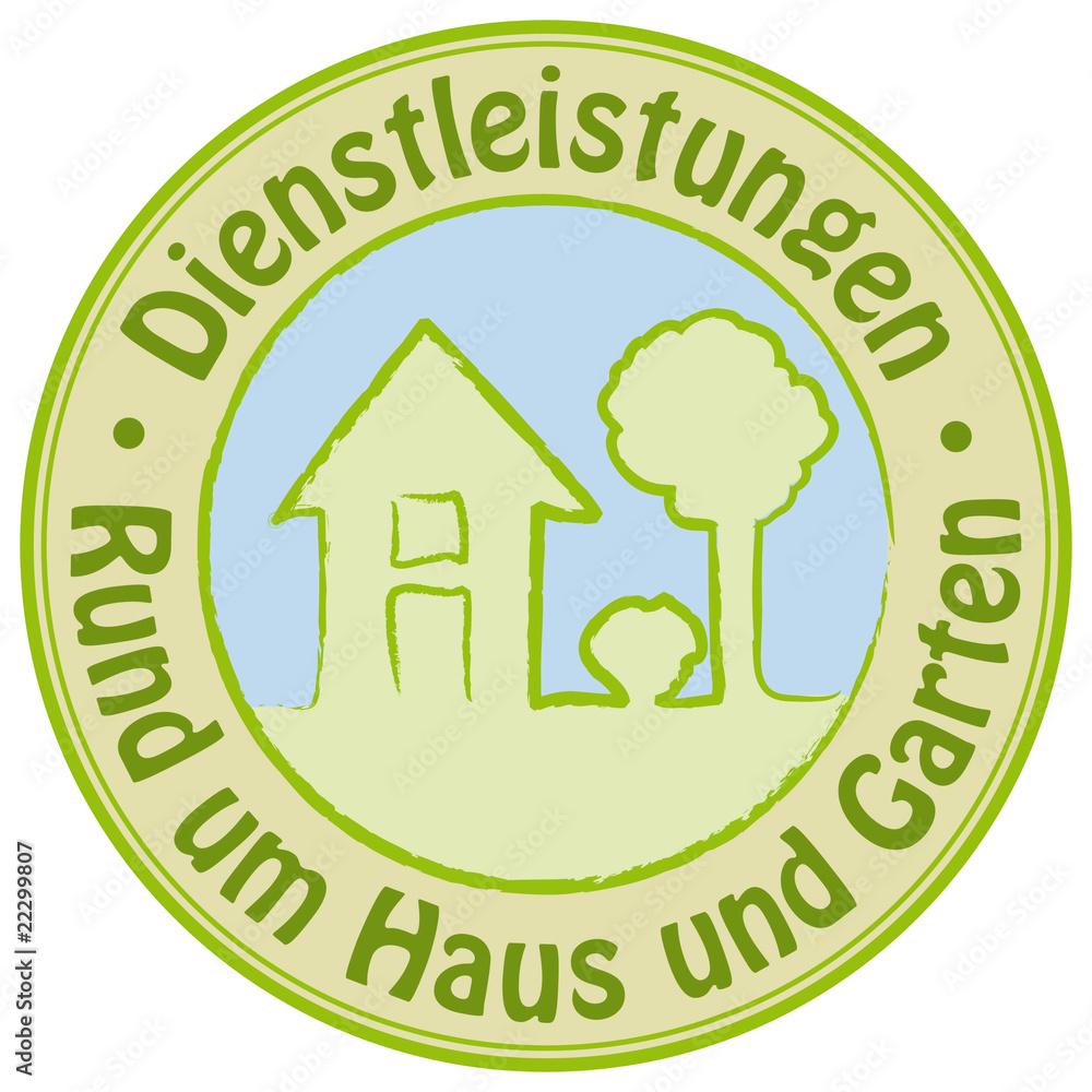 Dienstleistungen Rund Um Haus Und Garten Foto Poster Wandbilder