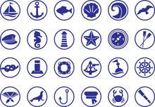 Sealife Icons / Seefahrt Icons