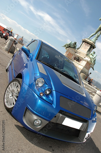 Türaufkleber Schnelle Autos car glamour