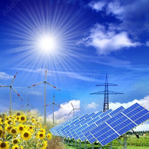 Photo  Klimaschutz und Energiegewinnung
