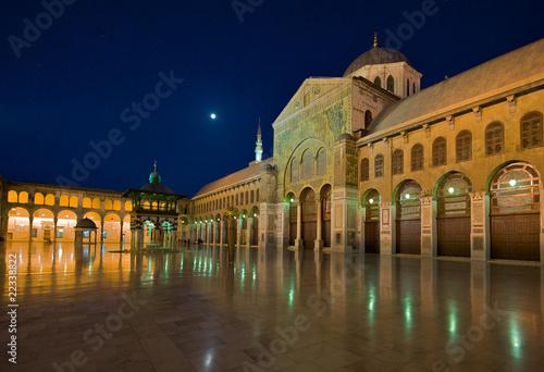 Umayyaden-Moschee zur Blauen Stunde