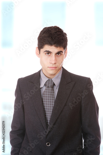 Fototapety, obrazy: young business man standing