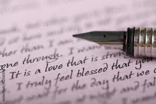 Foto Love letter