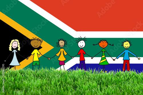 In de dag Regenboog Südafrika