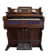 Antique Pedal Organ With Path