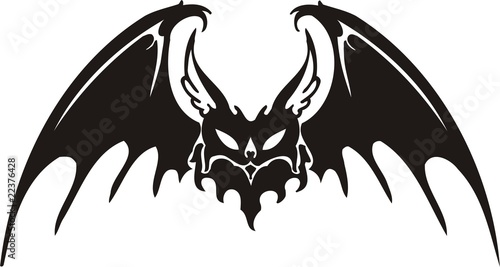 36b3a8dbb Tribal Bat. - Buy this stock vector and explore similar vectors at ...