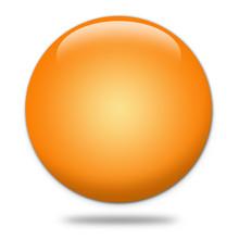 Kugel 3d Orange