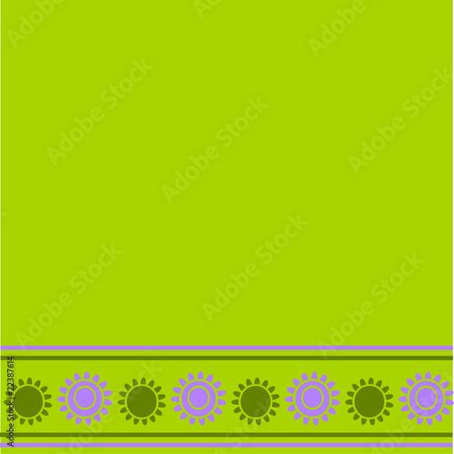 Sfondo Verde Con Fiori Buy This Stock Vector And Explore Similar