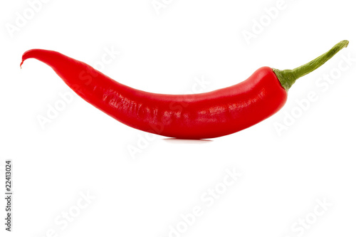 Spoed Foto op Canvas Hot chili peppers rote Peperoni