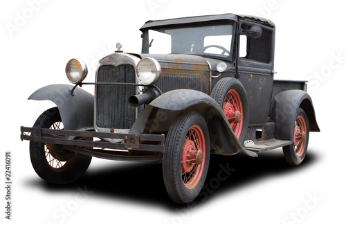 Tela  Antique Truck
