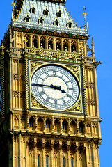 Fototapeta na wymiar Big Ben - Detail - London