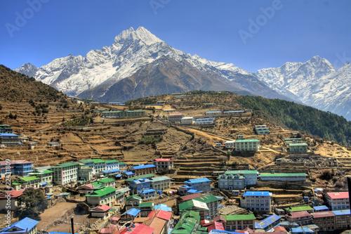 Foto op Aluminium Nepal Nepal / Himalaya - Namche Bazaar