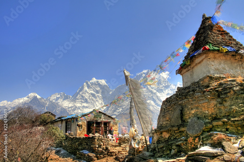 Foto op Canvas Nepal Nepal / Himalaya - Everest Trek