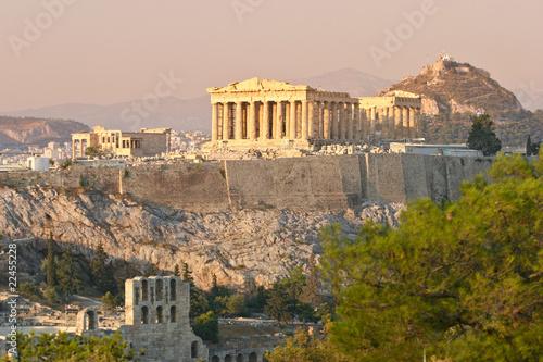 Printed kitchen splashbacks Athens Akropolis, Athen