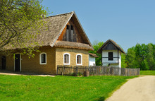 Old Houses With Roof From Stra...