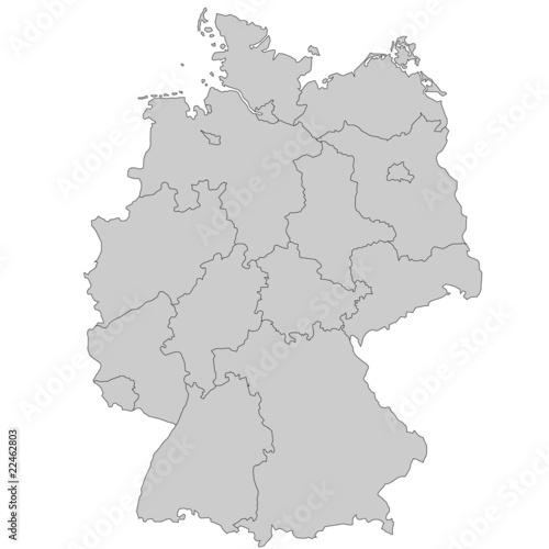 Deutschlandkarte Blanko Landkarte Deutschland 2019 12 27