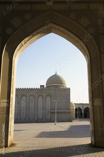 Palm tree Mosque in Doha Qatar