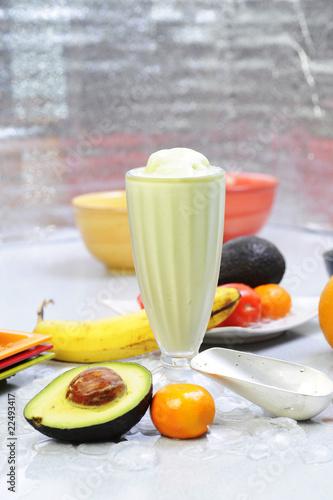 In de dag Verse groenten Vietnamese smoothie and ice
