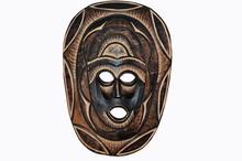Wall Mask Of A Monkey