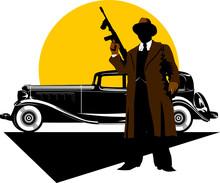 Gangsters Car