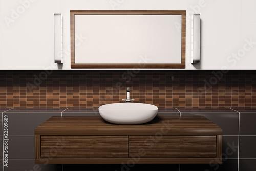Waschbecken 3d