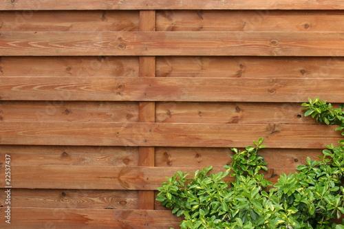 Obraz płot ogrodowy - fototapety do salonu