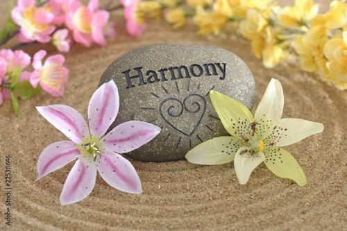 Fotografie, Obraz  Harmonie im zen