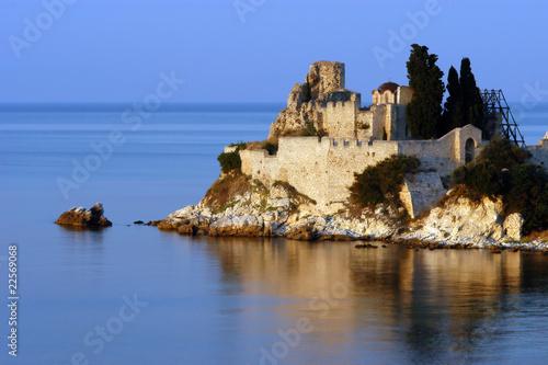 Fotografie, Obraz  Monastery of Saint Vasilie, Mount Athos