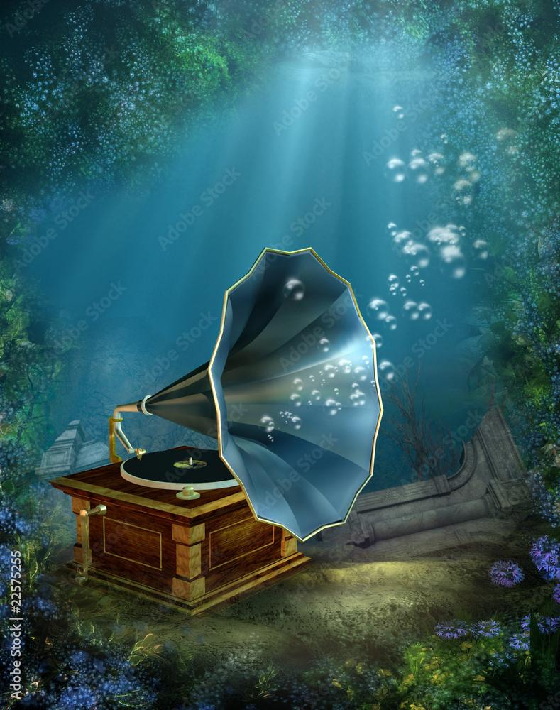 Fototapeta Sceneria podwodna 4