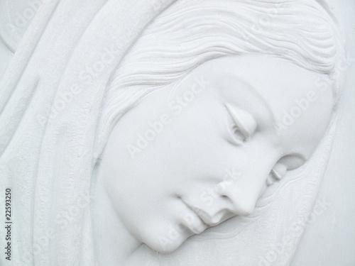 Canvastavla Vergine maria madre Concetto religioso di fede