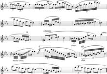 Notenblatt Noten Musik