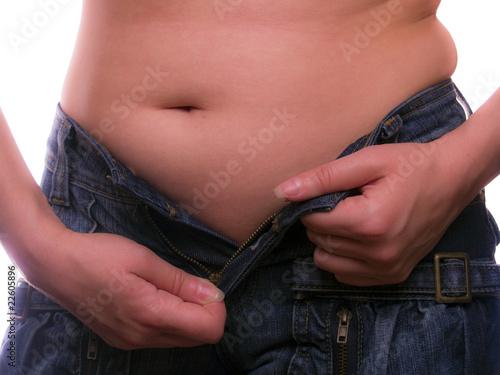 Fotografie, Obraz  overweight woman