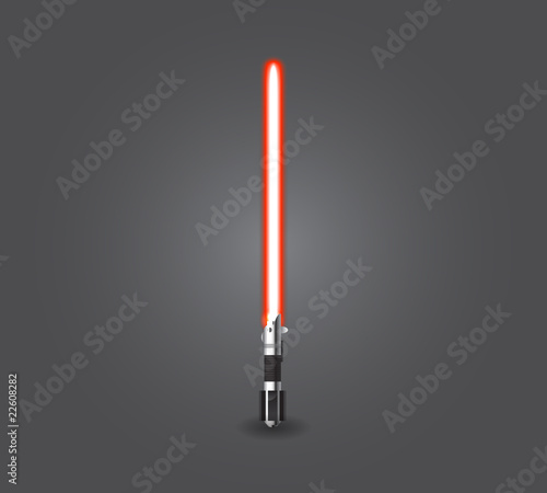 Photo  Red light saber