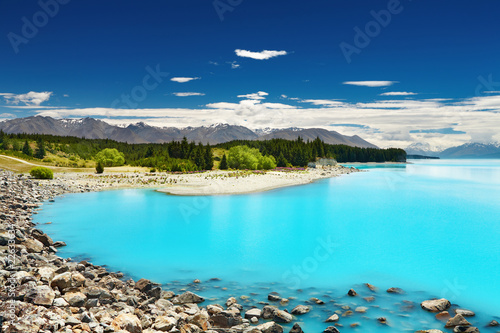 Poster Nouvelle Zélande Lake Pukaki, New Zealand