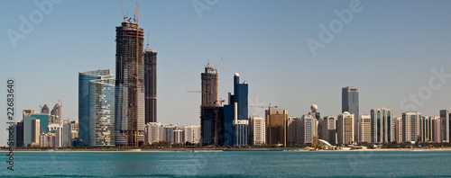 Poster Australie Abu Dhabi Skyline