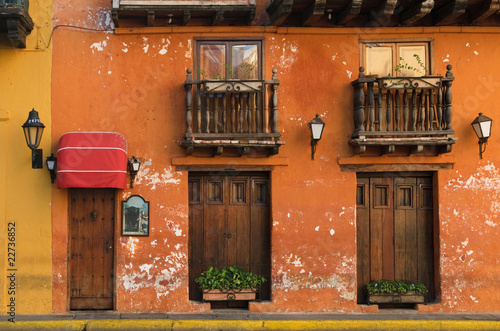 Fotografía  Streets of Cartagena, Colombia