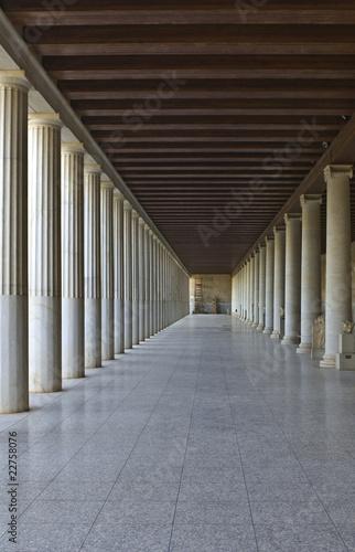grecka-kolumnada-w-atenach