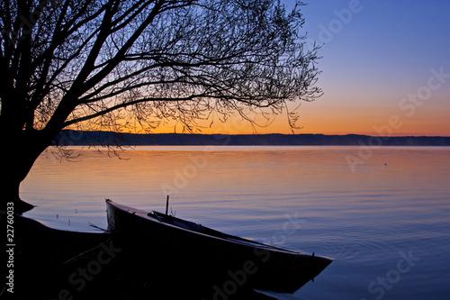Photo Morgenstimmung am Bolsena See