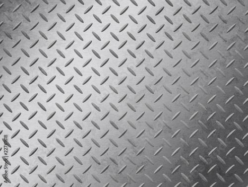 Poster Metal Diamond Plate Grunge