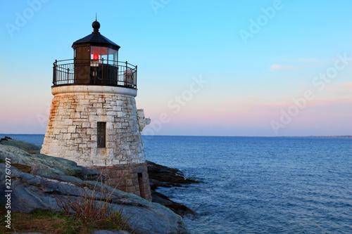 Fotobehang Natuur Park Lighthouse