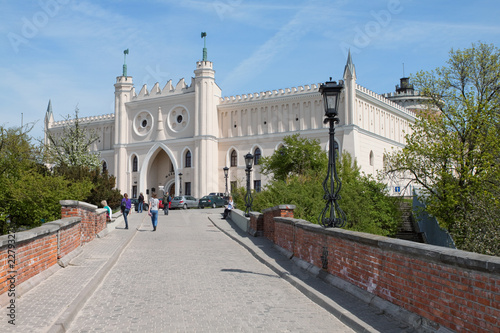 Obraz Royal castle and Museum in the city of Lublin. Poland. - fototapety do salonu