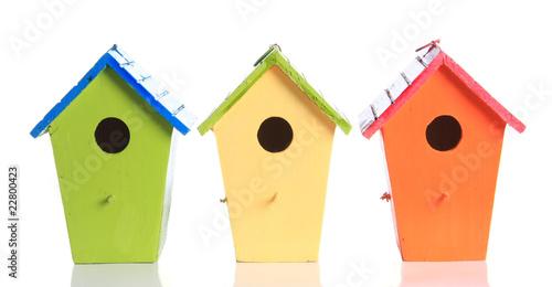 Photo  bird houses