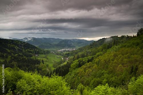 Photo  Frühlingslandschaft